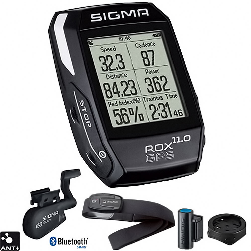 sigma computer rox 11 0 gps set black fahrrad ebay. Black Bedroom Furniture Sets. Home Design Ideas