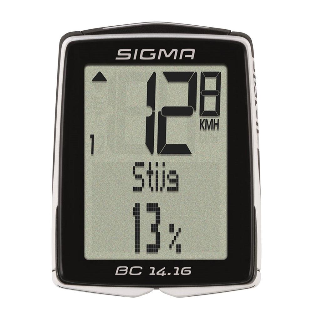 SIGMA Ciclocomputer BC 14.16 Alti Nero Bianco