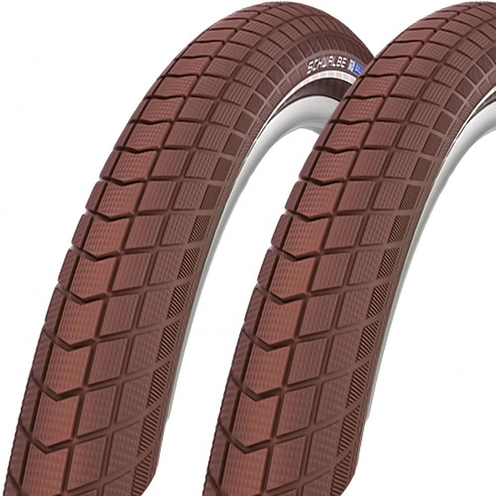 2x Schwalbe Reifen Big Ben 50-622 29 Zoll Draht Reflex Coffee