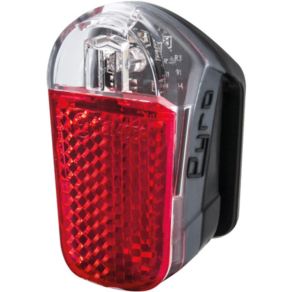 "SPANNINGA Batterie-LED-Rücklicht /""Ruby 3/"" m elastischem u robustem Kunststoffh"