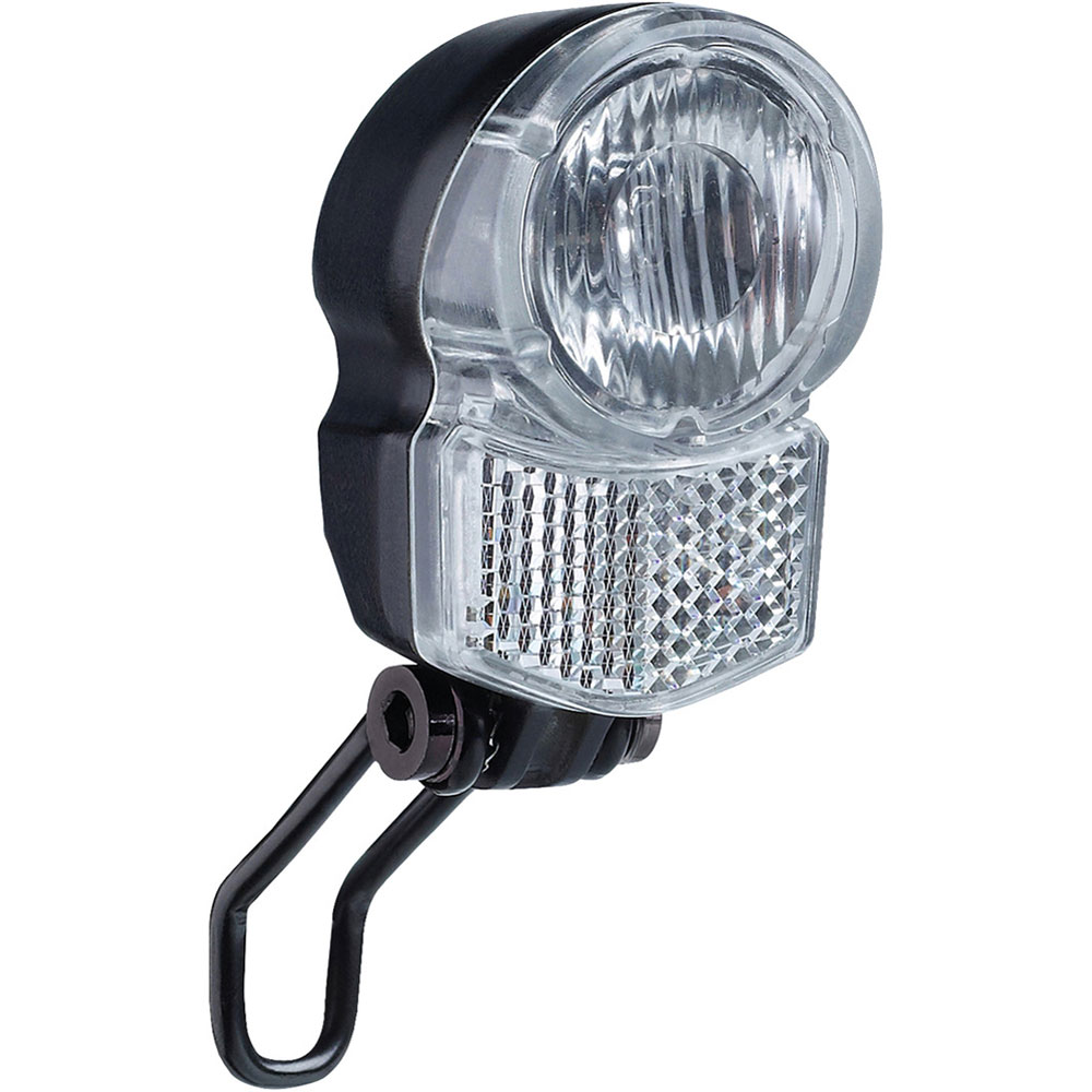 30 Lux Fahrrad Lampe LED Scheinwerfer Lampen AXA Pico 30 Nabendynamo für Giant